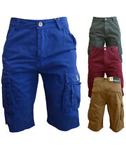 Mens Crosshatch Summer Designer Cargo Combat Shorts Laylan