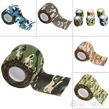 5CM x 4.5M Metre Camo Wrap Hunting Woods Camouflage Stealth Tape Outdoor Sports