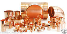 10MM,15MM,22MM COPPER END FEED PIPE FITTINGS,STR.COUPLER,ELBOW,EQUAL TEE,STOPEND