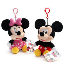BNWT Cute&Soft Mickey Mouse Minnie Mouse Plush Doll Bag Charm Disney Accessory