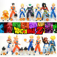 6-12 pcs Dragonball Z GT KAI DBZ Goku Gohan Vegeta Hot Action Figures Anime Toys