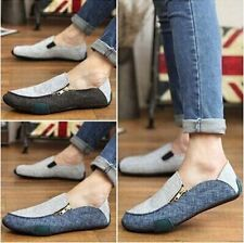 Casual canvas Loafers Driving Moccasins Sneakers 2015 New Fashion Mens Shoes