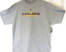 NEW Mens MAJESTIC Cleveland Cavaliers Basketball Big and Tall Gray NBA T-Shirt