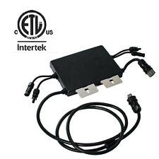 Microinverter Micro Inverter Solar Grid Tie Inverter Pure Sine-wave ETC Listed
