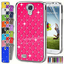 New Hard Back Diamond Case Cover For SAMSUNG GALAXY S4 S3 S4 Mini S3 Mini Ace 2