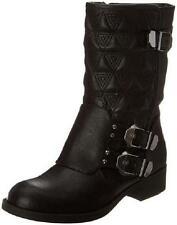 NEW Women's Black FERGIE EGO3  Fashion Shoe Casual Dress Booties Mid Calf Boots
