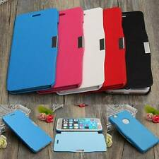 Ultra Slim Magnetic Flip PU Leather +PC Hard Case Cover Skin For Mobile Phone