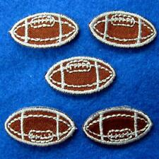 5 Patch Football Soccer Iron on Sew Applique Badge Embroidered Biker Sports Cute