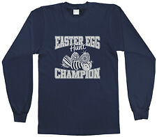 Threadrock Kids Easter Egg Hunt Champion Youth L/S T-shirt Holiday Bunny Cute