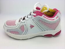 Youth Girls Sport Shoes Dunlop Energise Lace up Runners Sneakers Size Uk 13-5