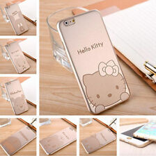 "Ultra Thin Gold Cartoon Hard Skin Back Phone Case Cover For iPhone 6 ( 4.7"" )"