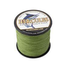 4 STRANDS PE DYNEEMA FISHING LINE Army Green 100M 300M 500M 1000M SPECTRA BRAID