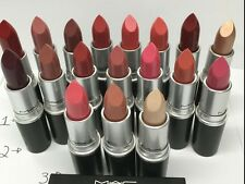 ***NO BOX MAC LIPSTICK NEW WITHOUT BOX 100% AUTHENTIC, CREMESHEEN
