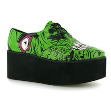 IRON FIST ZOMBIE STOMPER WOMEN MONSTER GREEN PLATFORM CREEPER