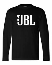 JBL T-shirt cotton long sleeve graphic tee cool car stereo sound speaker