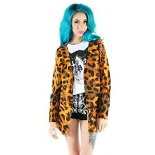 IRON FIST CHANGE YOUR SPOTS  WOMEN LEOPARD CARDIGAN US SIZE