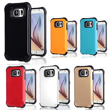 2in1 Hybrid TPU Case Rubber Back Case Cover Skin For SAMSUNG galaxy S6 Soft Case