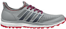 Adidas Climacool Golf Shoes 2015 Mid Grey/Red Q44603 Mens New