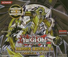 Hidden Arsenal 6 HA06 Super Rare Yu-Gi-Oh Cards Single/Playset 1st Edition New