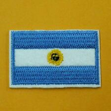 Argentina Flag Iron on Sew Patch Cute Applique Badge Embroidered Biker Sports