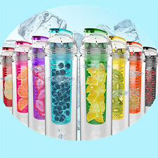 700ML Sport Fruit Infusing Infuser Water Lemon Juice Make Bottle BPA Free Filter