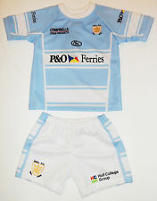 Isc Hull FC Home Toddler Blue Replica Kit