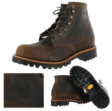 "Chippewa Apache Men's Wide Width Vibram 6"" Work Boots Factory Second"