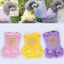 New Pet Summer Supplies Small Dog Princess Dress Lace Skirt Puppy Dog Clothes