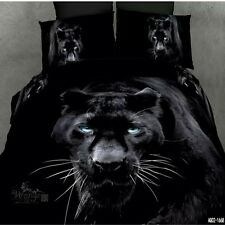 Black Panther Queen/Double Bed Quilt/Doona Cover Set New 100%Cotton Duvet Covers