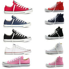 all stars Womens lady Classic Sneaker Canvas Shoes Chuck Taylor High Low Trainer