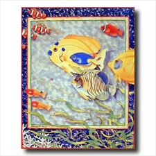 Exotic Coral And Ocean Fish #1 Kids Room Wall Picture
