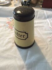 1950s Vintage Regency Ware Flour Sifter that was manufactured in England