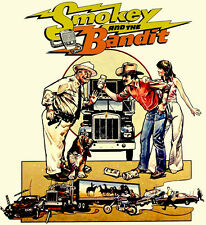 Smokey and the Bandit t-shirt Trans Am retro country redneck 70' 80's movie tee