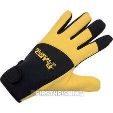 Black Cat Deluxe Unhooking Gloves - River Ebro Rhine Wels Catfish Fishing Tackle
