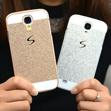 Luxury Bling Glitter Hard PC Back Case Cover Skin for Samsung Galaxy Cell Phone