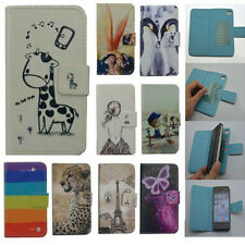For BLU case Wallet Card slot deluxe leather cartoon cute Cover