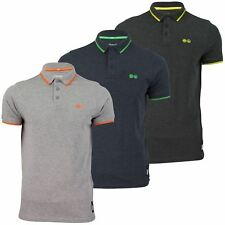 Mens Polo Shirt by Crosshatch 'Tip Top' Short Sleeved