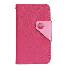 hotpink Wallet Card multifunction Full Cover Case For smart phone