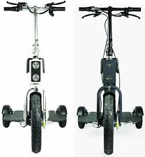Acton M SCOOTER MP White Or Black 3 Wheel Electric Bike Bicycle 12 MPH 19 KPH