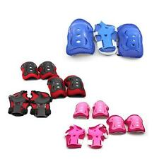 6pcs Kids Roller Skating Elbow Knee Wrist Care Protective Guard Safety Pad Gear