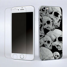 Skulls Protector Skin Sticker Cover Screen film Decal For Apple iPhone 6 4.7""