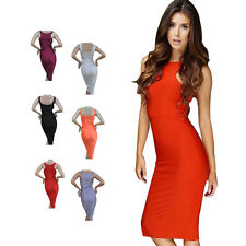 2015 Trendy Womens 2 Way Convertable Sleeveless Lady Tank Top Bodycon Maxi Dress