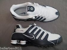Mens Nike Shox NZ shoes sneakers trainers new 378341 411 Obsidian