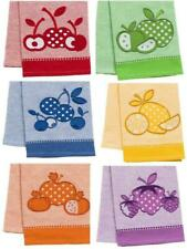 COLORFUL FRUIT 18x28 Embroidered KITCHEN DISH TOWEL Cotton Picnic Napkin *CHOICE