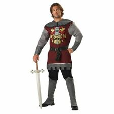 Armored Noble Knight Men's Costume