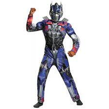 Optimus Prime Classic Muscle Costume Transformers Halloween Fancy Dress