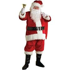 Santa Suit Christmas Costumes for Adults Fancy Dress