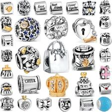 Unique Presents Design Best 925 Sterling Silver Bead Charm fit European Bracelet