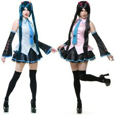 Hatsune Miku Costume Adult Vocaloid Anime Cosplay Halloween Fancy Dress