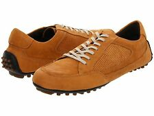 Cole Haan Mens Air Grant Camel Brown Casual Lace Drivers Oxfords Driving Shoes